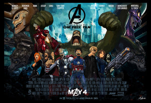 If One Piece Characters were Avengers !