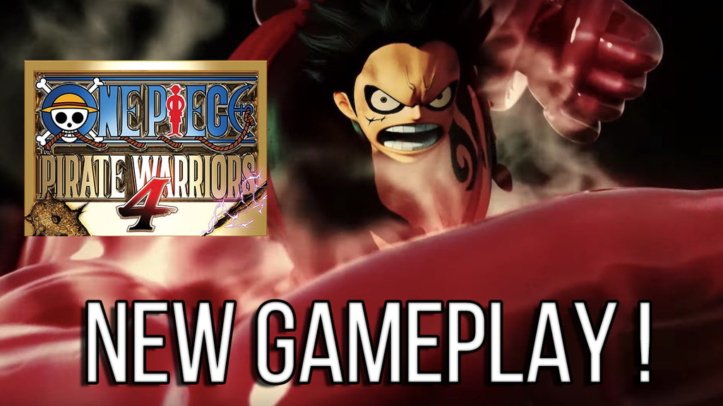 One Piece: Pirate Warriors 4 unveils in a New Gameplay !