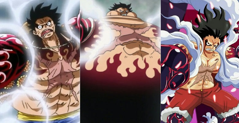 how tall is gear 4 luffy