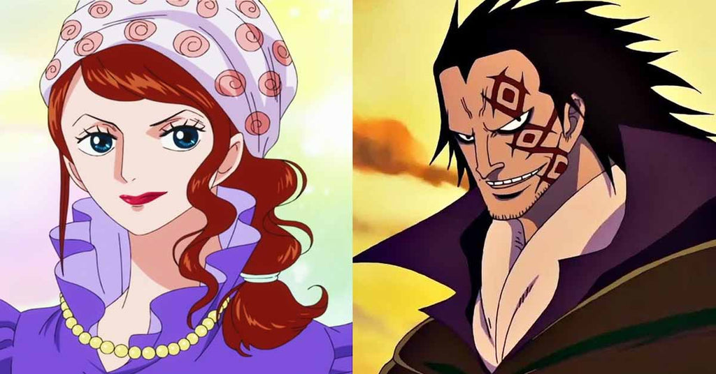 luffy mom and dad