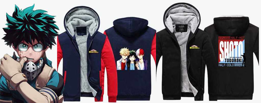 my hero academia jacket