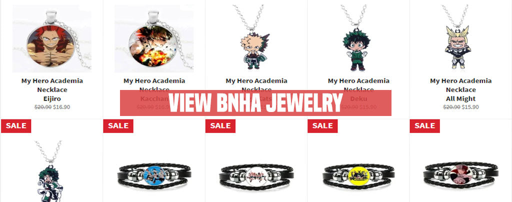 my hero academia jewelry