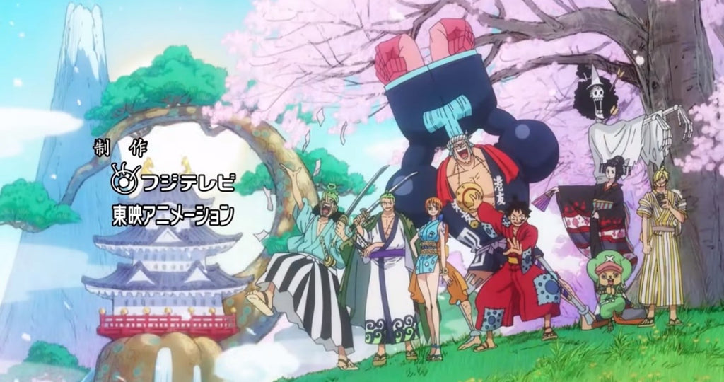 one piece opening wano