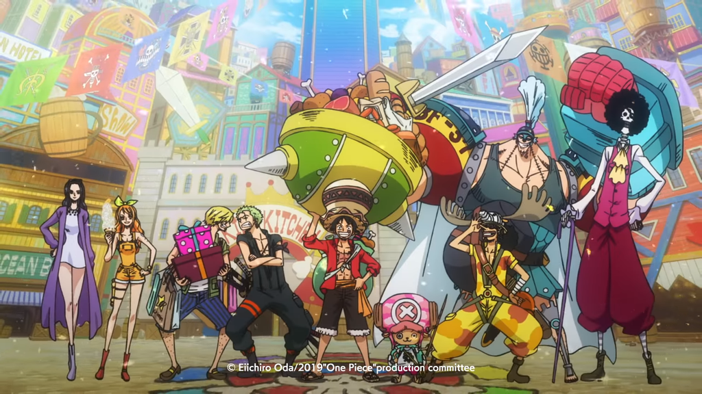 mugiwara one piece stampede