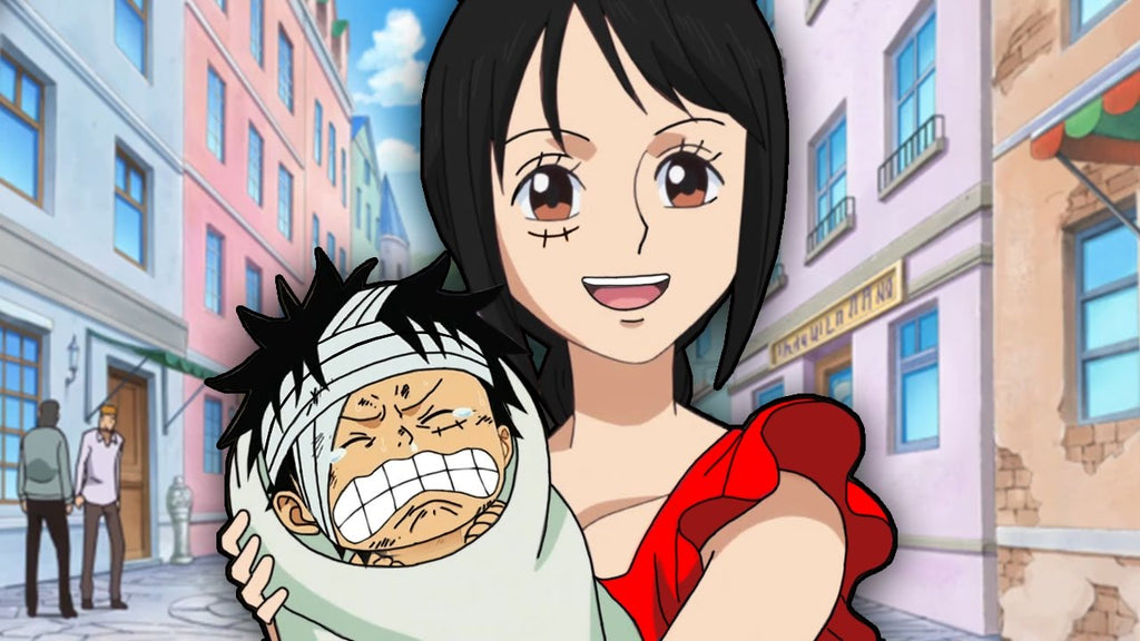 one piece who is luffy's mother