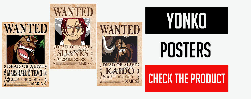 yonko wanted posters