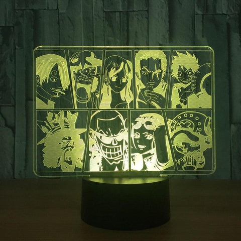 one piece flying lamp