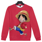 one piece anime sweater