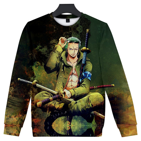 one piece zoro sweater