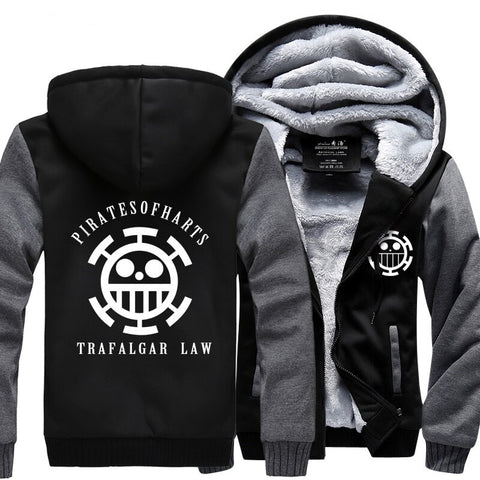 one piece law jacket