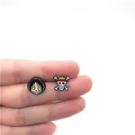 one piece earrings anime