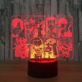 one piece straw hat pirate lamp