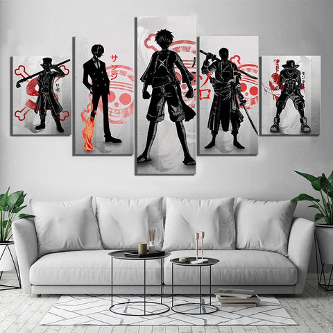 one piece canvas painting