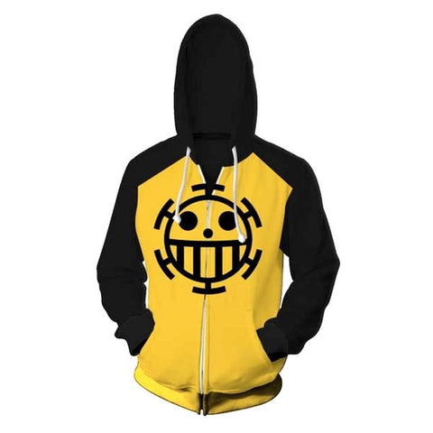 one piece law hoodie