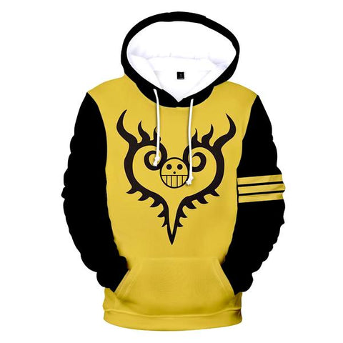 one piece hoodie law