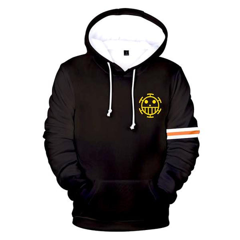 trafalgar law hoodie new world
