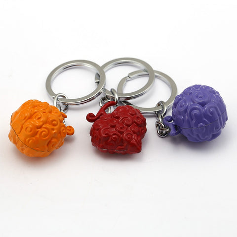 devil fruit keychain