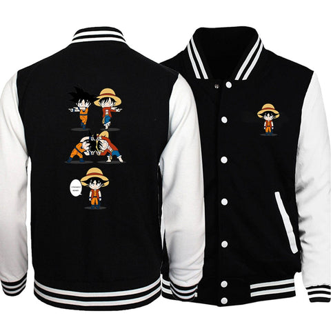 dragon ball z varsity jacket