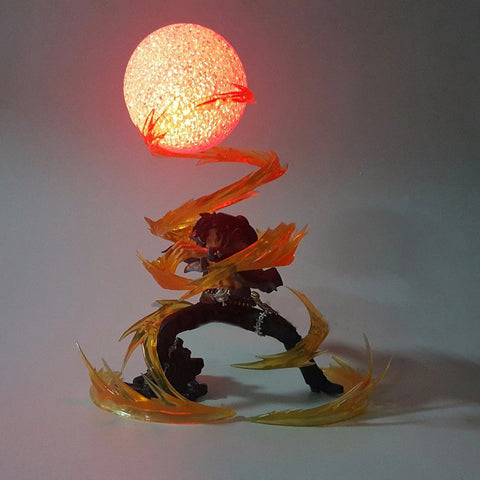 one piece ace 3d lamp