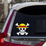 car decal one piece