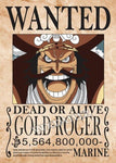 gol d roger wanted poster