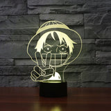 anime one piece lamp