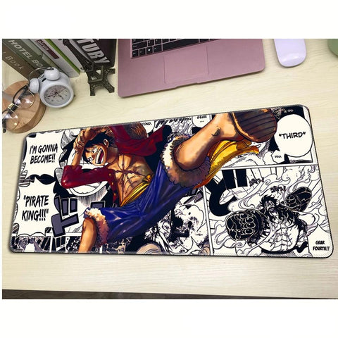 luffy mousepad