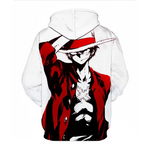 monkey d luffy anime hoodie