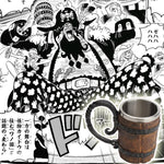 one piece barrel mug