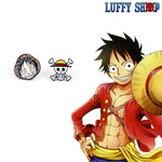 one piece anime earrings
