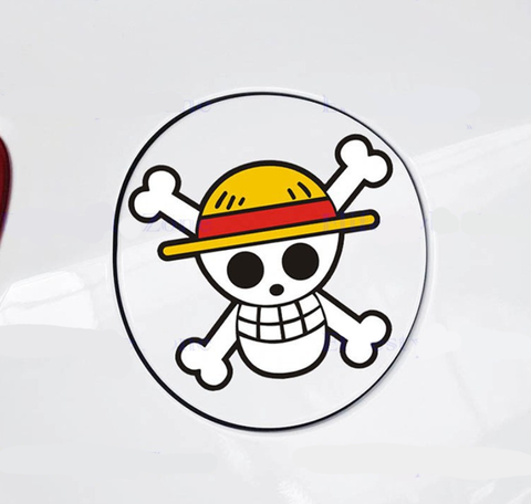 one piece car decal