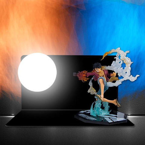 one piece luffy lamp
