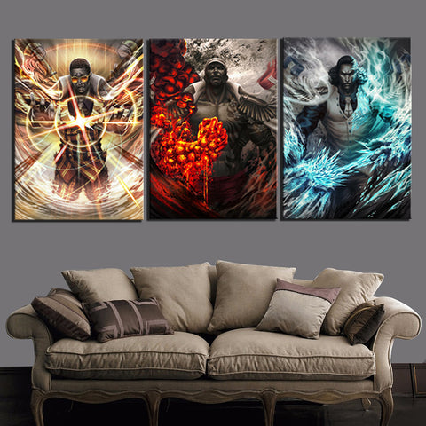 one piece anime canvas prints