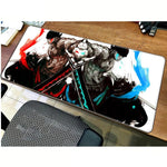one piece extended mouse pad