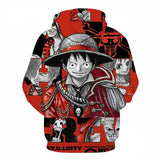 captain luffy hoodie
