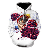 one piece luffy gear 4 hoodie
