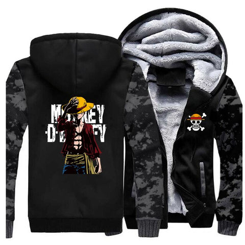 luffy one piece jacket