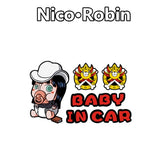 nico robin baby in car