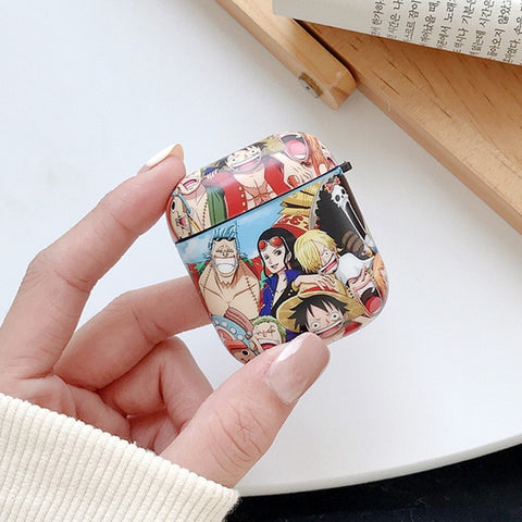 one piece anime airpod case