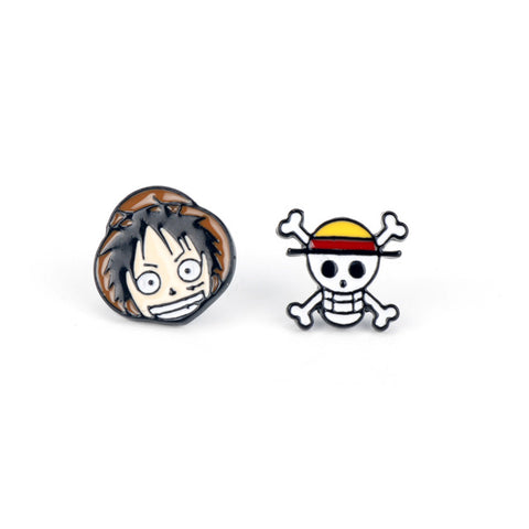 luffy earrings