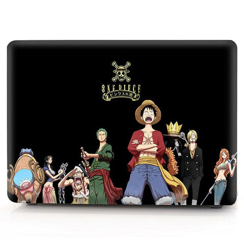 one piece macbook cover