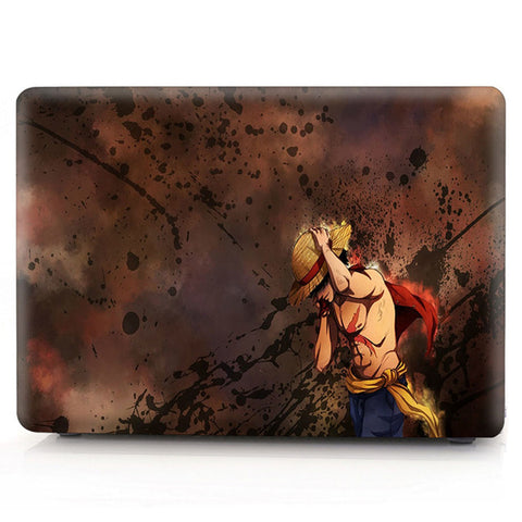 one piece luffy laptop skin