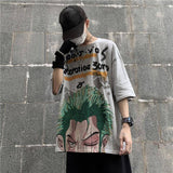 one piece zoro t shirt