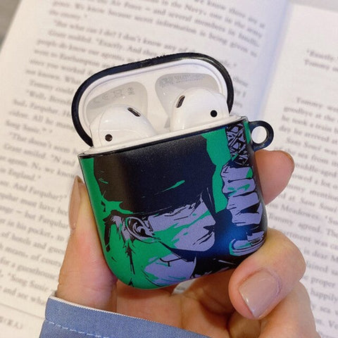 one piece roronoa zoro airpod case