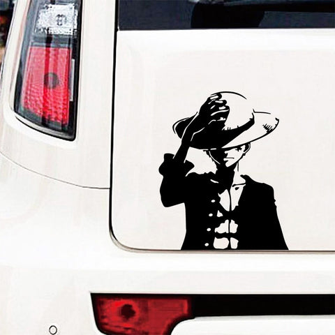 luffy car sticker