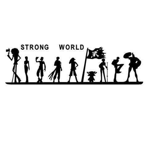 strong world sticker