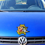 one piece car sticker