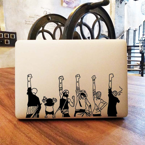 one piece macbook sticker