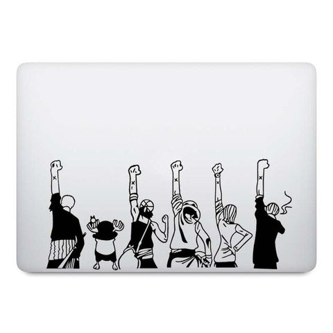 macbook one piece sticker