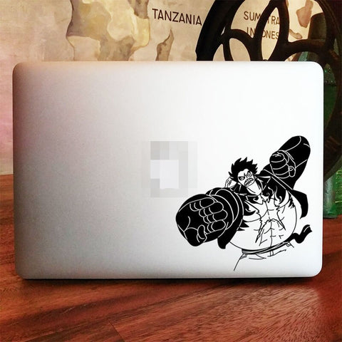 gear 4 luffy macbook cover